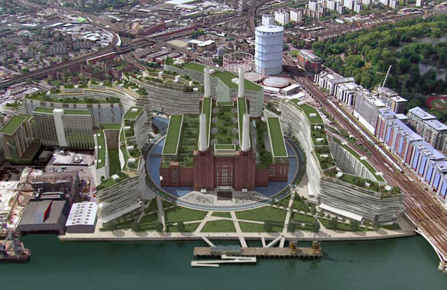 New Life for Old Battersea Power Station Floor