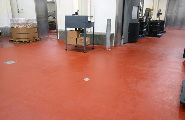 Example of Failing Floors in Food Manufacturing