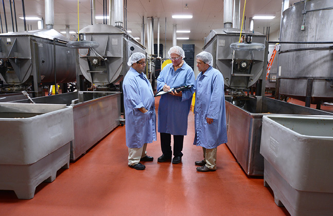 Example of Failing Floors in Food Manufacturing3