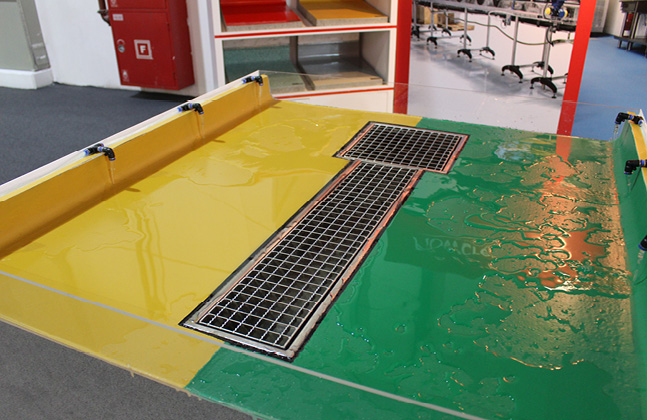 Flowcrete Flies The Flooring Flag at Gulfood Manufacturing 20142