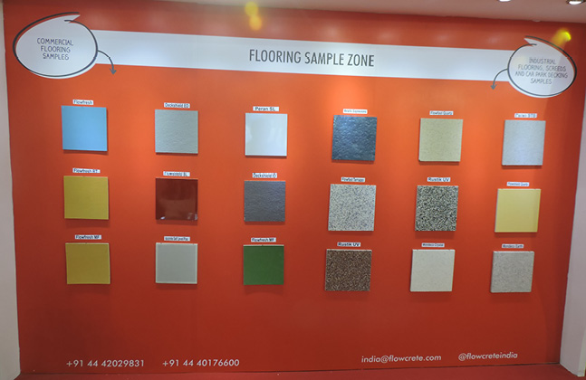 Flowcrete India Exhibits its Innovative Solutions to ACETECH's Attendees2