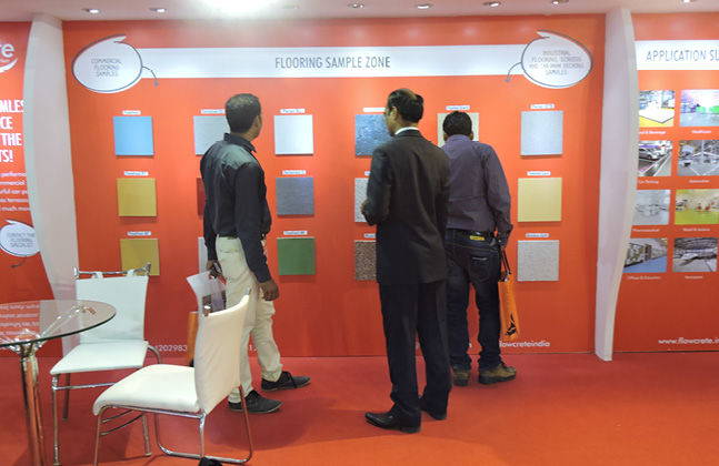 Flowcrete India Exhibits its Innovative Solutions to ACETECH's Attendees4