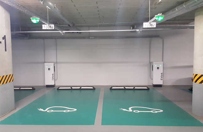 Lithuania's Largest Office Complex Installs Region's First Polyurethane Car Park Deck Coating