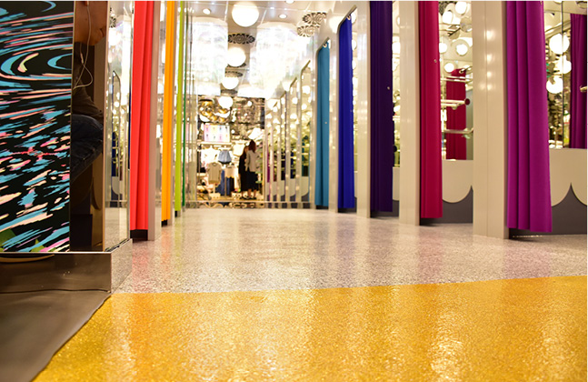 Monki Goes for Gold with New Store Floor!3