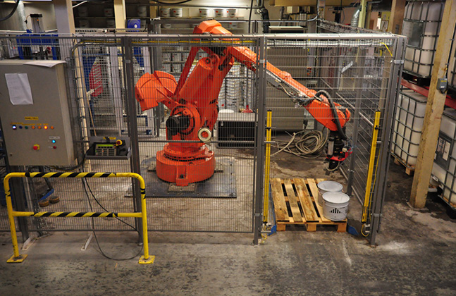 Say Hi to Kevin, the Robot Revolutionising Resin Flooring Production!2