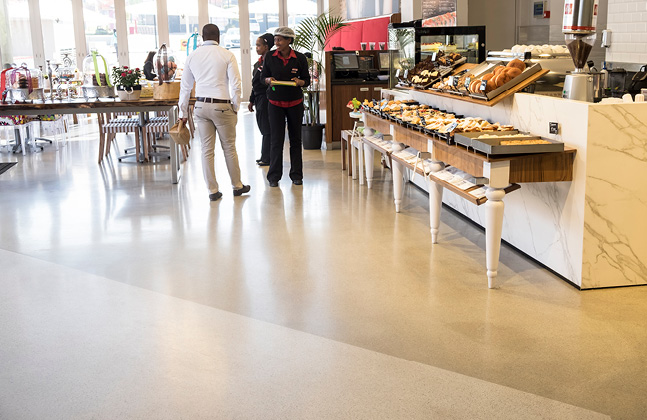 Super Floor for Secunda's New SuperSpar