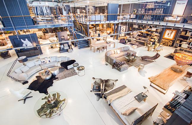 Bespoke Mezzanine Floor for Weylandts Furniture Store