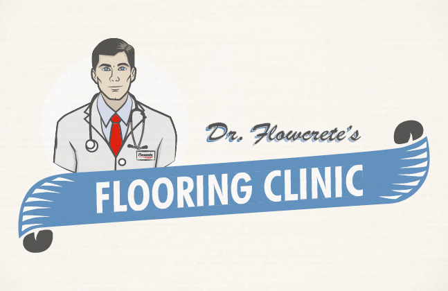 Dr Flowcrete is on Hand to Help