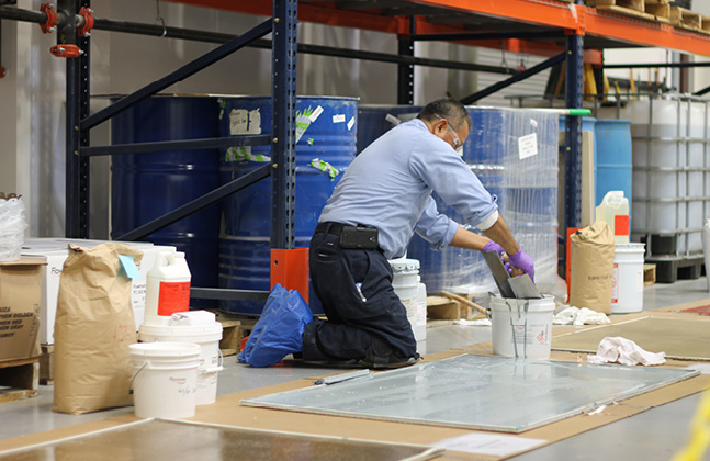 Industrial Flooring Problems Part 2- Poor Intercoat Adhesion2