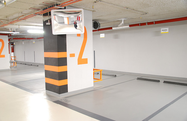 Quartz-Crystal Office Building Selects Deckshield For Multi-Storey Basement Parking Facility2