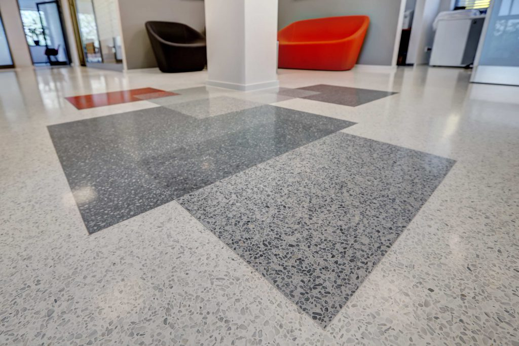 office flooring tiles supermarket floor that we could easily create geometric patterns of overlapping squares in four different places throughout the office whats more floor design masterclass office flooring all things