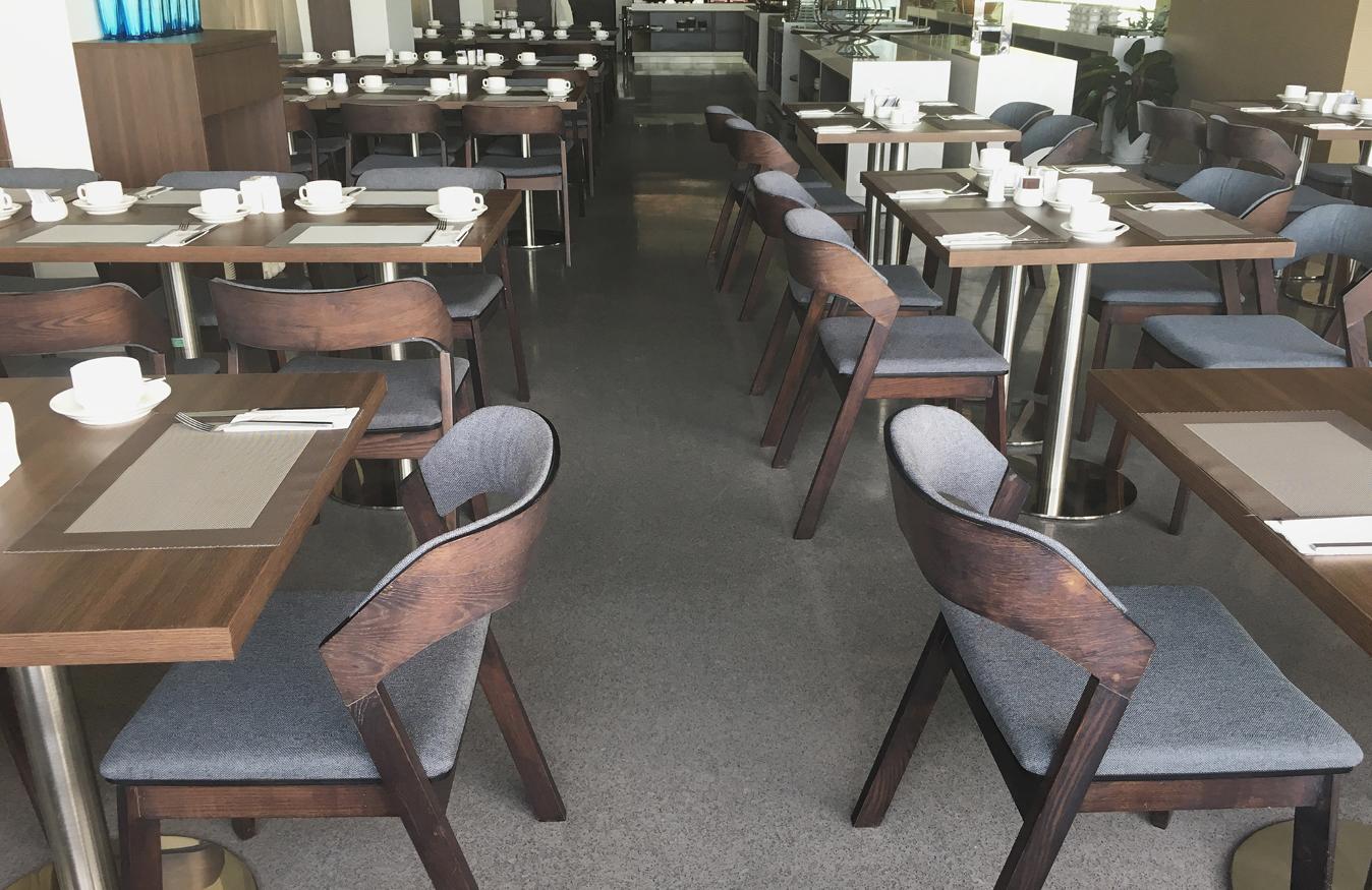 Modern Restaurant Flooring