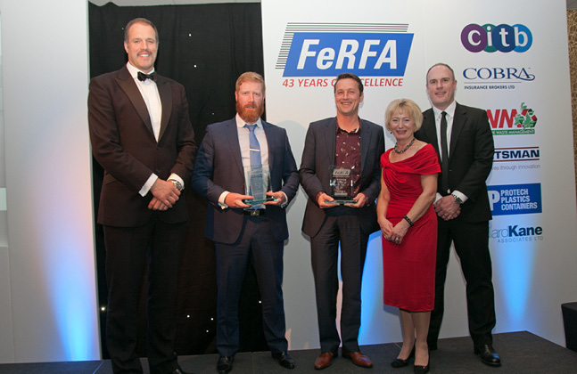 Flowcrete UK Wins FeRFA's Large Project of the Year Award
