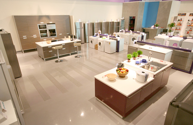 Flowcrete Decorates I-Design in Abu Dhabi