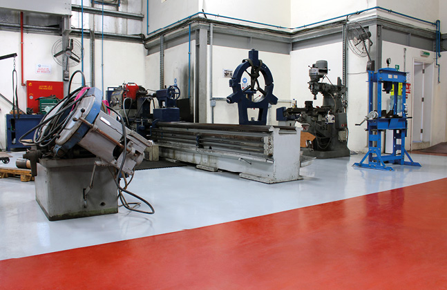 The Make-Up of a Modern Day Industrial Flooring System