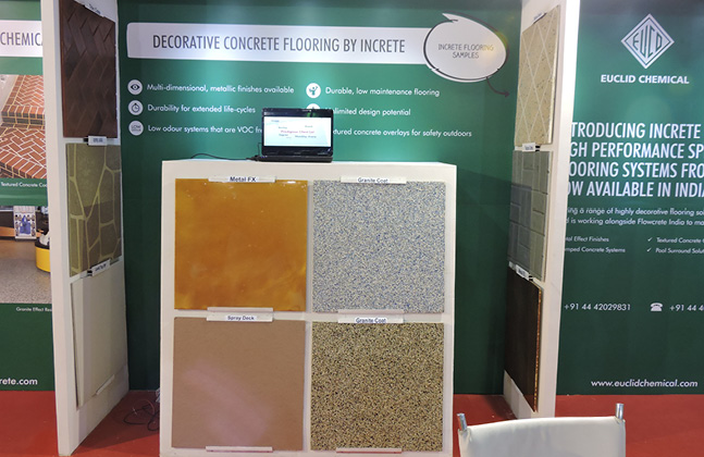 Flowcrete India Exhibits its Innovative Solutions to ACETECH's Attendees3