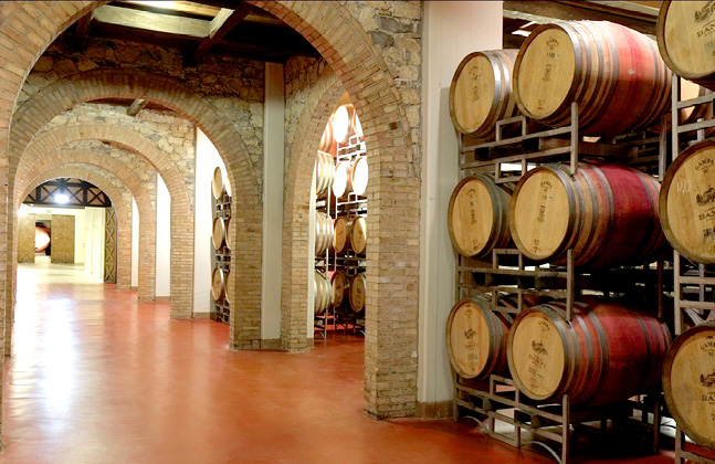 Wine Cellars from 1,700 BC to Today