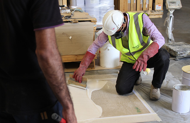 Applicators Educated in Fast Cure Flooring Masterclass