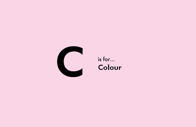 C is For Colour