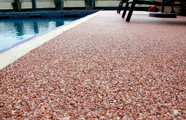 Carpeting Outdoor Areas with Seamless Stone Surfaces