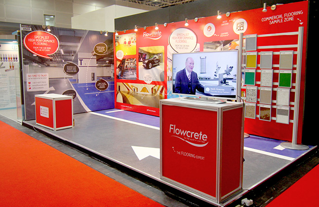 Flowcrete Asia Revs Up Design Impact at ARCHIDEX 15