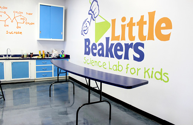 Flowcrete Discovers The Joy of Science at Little Beakers
