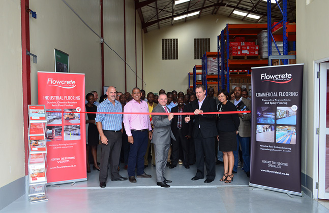 Flowcrete East Africa Launched in Nairobi