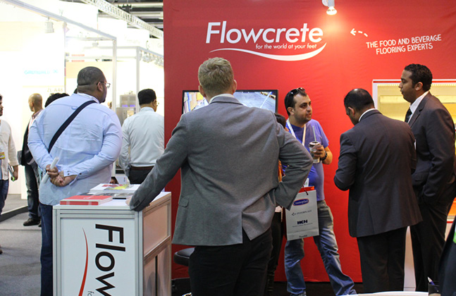 Flowcrete Middle East Showcases Hygienic Flooring at this Year's Gulfood Manufacturing