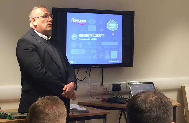 Flowcrete Unveils the Latest Resin Flooring Technology to Contractors