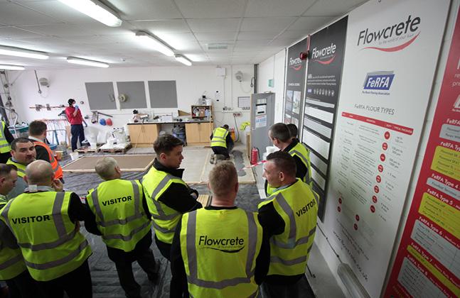 Flowcrete Unveils the Latest Resin Flooring Technology to Contractors4