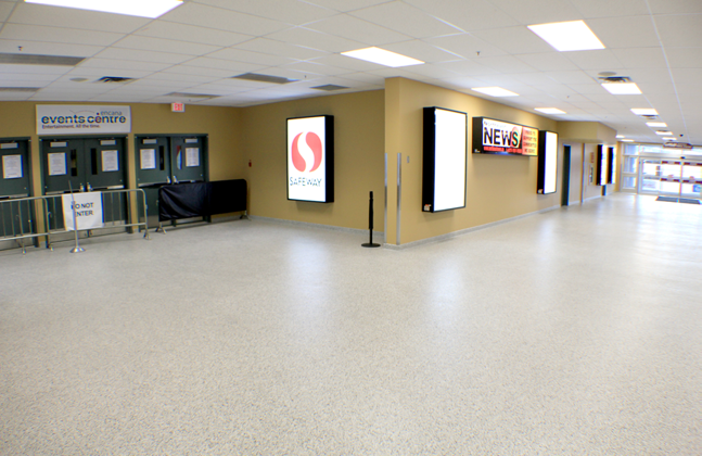 Flowcrete Wins Flooring Face-off to Land Encana Events Centre Project