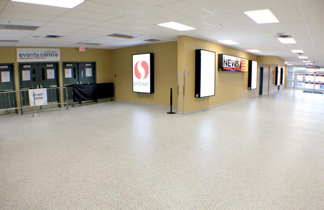 Flowcrete Wins Flooring Face-off to Land Encana Events Centre Project