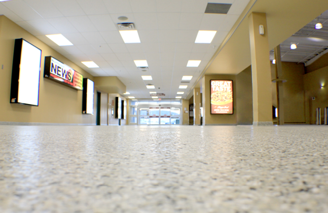 Flowcrete Wins Flooring Face-off to Land Encana Events Centre Project5