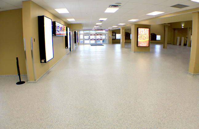 Flowcrete Wins Flooring Face-off to Land Encana Events Centre Project6