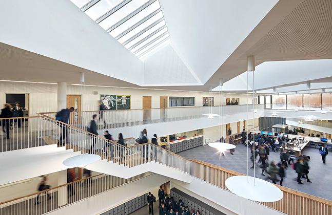 John Roan School Wins RIBA Award for Flowcrete Floored Development3