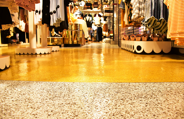Monki Goes for Gold with New Store Floor!