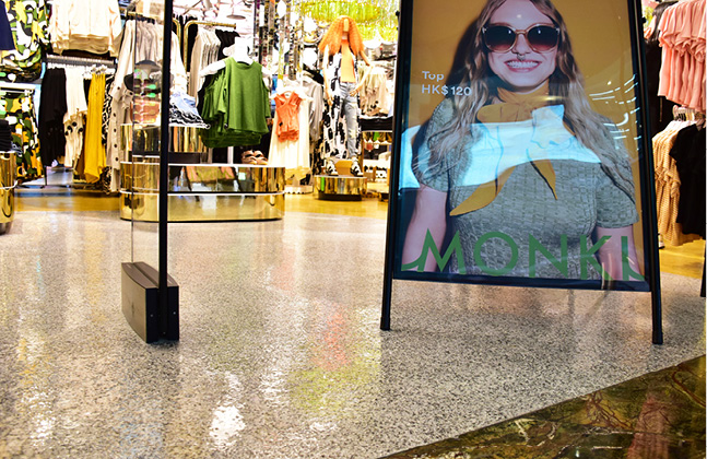 Monki Goes for Gold with New Store Floor!2