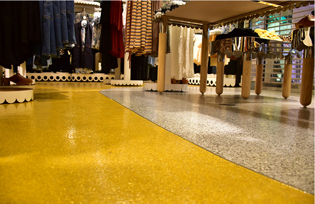 Monki Goes for Gold with New Store Floor!4
