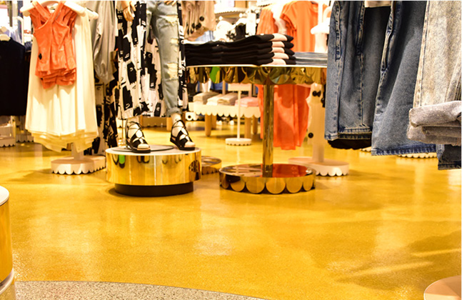 Monki Goes for Gold with New Store Floor!6