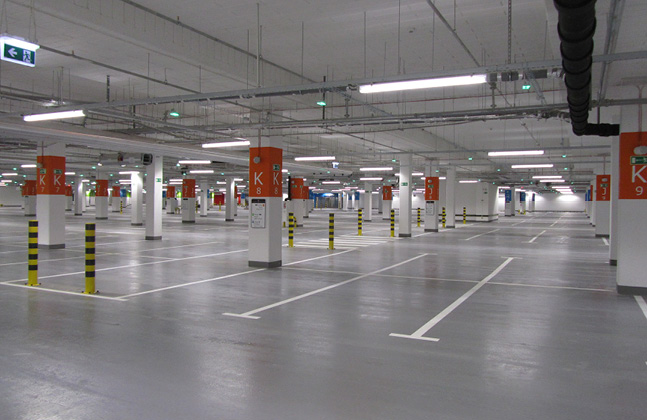 Poland's Biggest Shopping Centre Installs Deckshield Car Park Decking