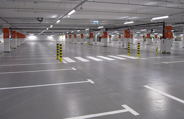 Poland's Biggest Shopping Centre Installs Deckshield Car Park Decking4