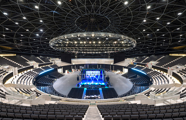 SSE Hydro's Summer of Songs Supported by Flowcrete Floors