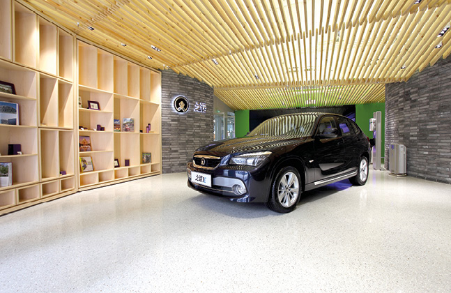 Supporting Brand Identity in Luxury Car Showrooms