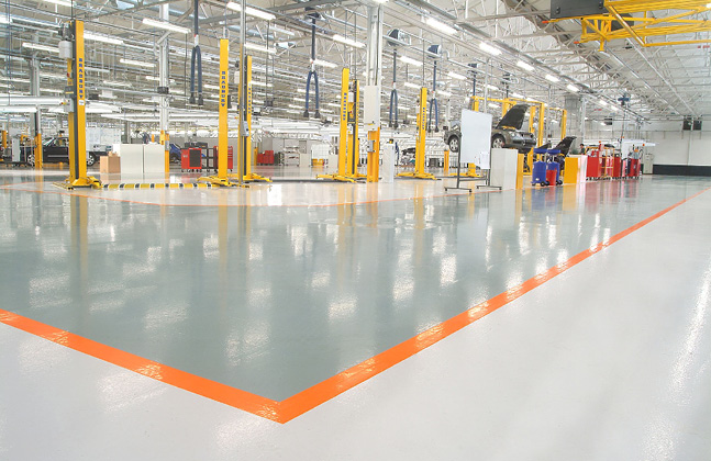 System in Profile- Flowcrete Rapide Topcoat4