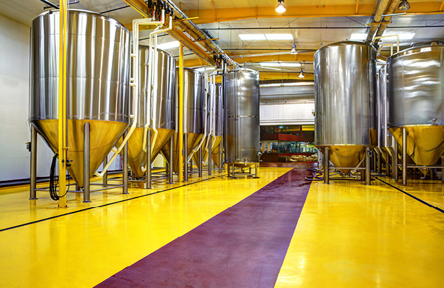 Willie's Brewhouse Floor Maintenance & Safety Tips- Advantages of Cementitious Urethane Over Epoxy In Brewery Production Areas