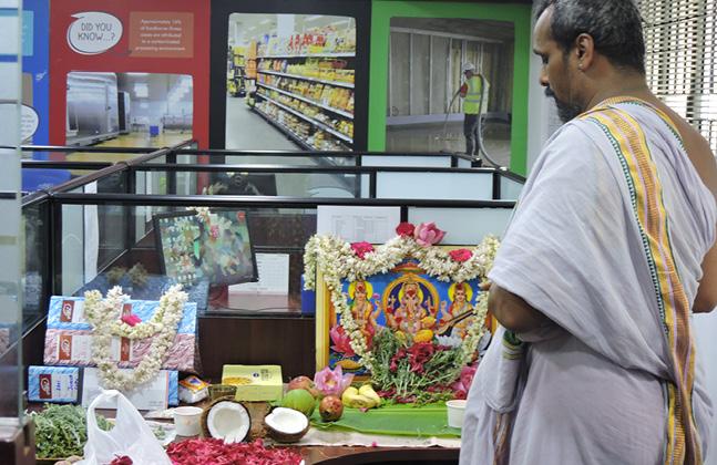 Flowcrete India's Pooja Celebrations