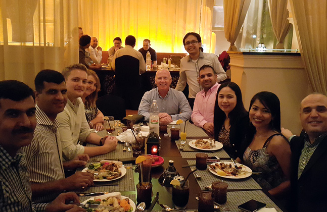 Flowcrete Middle East Enjoys Annual Company Iftar
