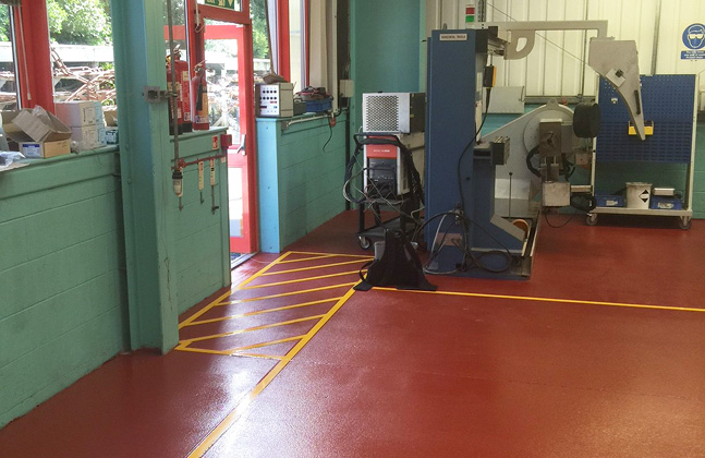 Metallink Fluid Power Systems Picks Impact, Chemical and Wear Resistant Floors2