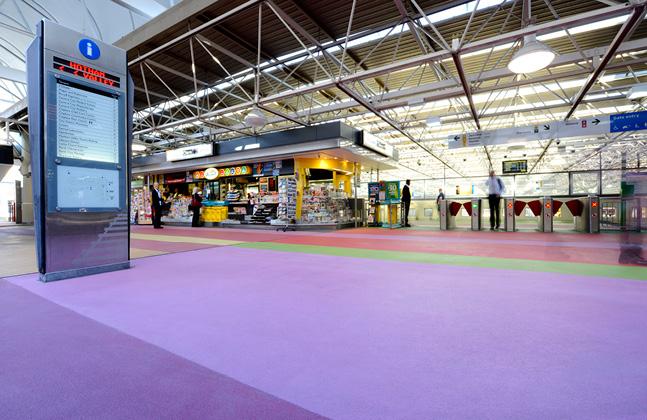 Perth Train Station Creates 2,650m2 of Art3