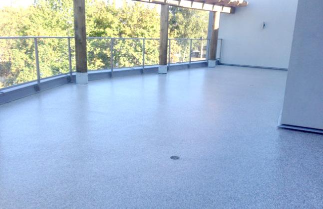 Rehabilitation Center Installs Fast Cure Deck2